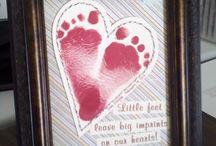 Handprint & footprint