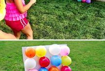 pomysł u urodziny zabawy