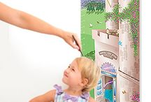Personalized Growth Charts / Remember your child's journey from small to tall!  Personalized growth charts never fade or get left behind!