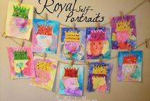 královské portréty