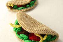 crochet taco