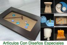 Diseños Especiales en Cerámica / Hacemos en cerámica sus ideas