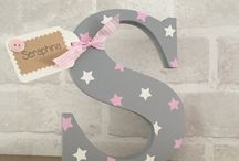 Wooden letter project