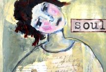 ART JOURNALS FOR 2015 / EXPEDITIONS, EXPLORING, DISCOVERIES, BREAKTHROUGHS with MIXED MEDIA