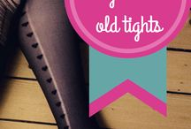 Old tights