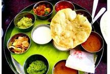 * Some dishes of INDIA AT YOUR HOME *  / Some Indian dishes of INDIA AT YOUR HOME