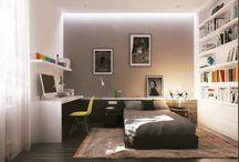 Спальня юноши