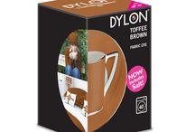 DYLON-Karamel Kahve-Toffee Brown-Fabric Dye With Salt
