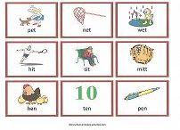 Rhyming / worksheets and printable activities to teach preschoolers to identify rhyming words