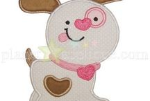 Applique and Embroidery Designs-Valentine's Day