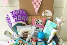Birthday College Care Packages / Fun and clever birthday gifts and ideas