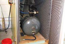 pochłaniacz dźwięku kompresor