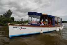 Boat trips in the Broads