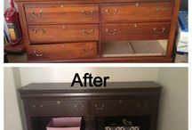 redo old furniture / by Becky Lukow