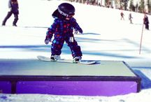 SNOWboard & Winter & Mountain