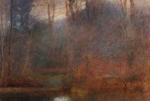 Landscape in oil