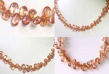 Stone Beads > Topaz Beads / Natural Topaz beads in a variety of shapes, sizes and colors.