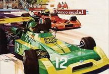 Cartazes corridas de carro