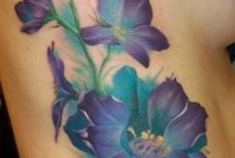tattoo bloemen