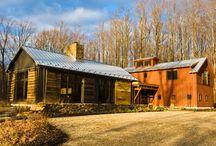Timber Frame LEED House