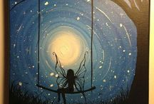 paint night