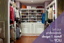 Professionally Installed Products / ClosetMaid's professional installed products can be designed and installed to your specifications by an Authorized ClosetMaid dealer. The custom system comes in five finishes and features multiple drawer & door profiles. Are you a Professional? Take advantage of our professional services by visiting closetmaidpro.com; Building a home? Then visit customclosetmaid.com to learn more about products available nationwide.