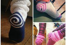 Crochet - slippers/socks (adult)