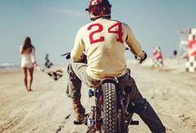 Vintage motorcycle style