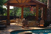 San Antonio Outdoor living area