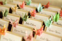 Bryllup Origami