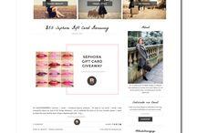 Дизайны Блогов