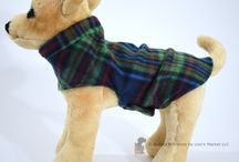 XS Fleece Dog Coats / A warm fleece coat for your extra small dog or puppy!