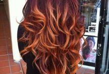 Pumpkin Spice Hair Color Inspiration