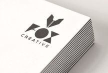 FOX ID / FOX Creative Corporate Identity. Business Card, Envelope, Invoice.
