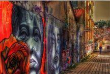 Γκράφιτι-φρέσκο-τοιχογραφία