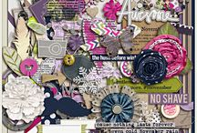 {Collecting Moments:November} Digital Scrapbook Kit by Pixelily Designs