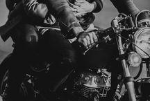 Motorcycle couple