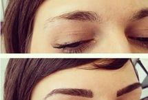 Eyebrows and eyelashes extension