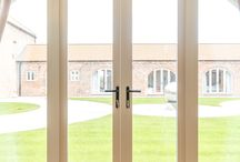 Case Study: Highferry Barn / Highferry Barn is a renovated barn stretched over an impressive 2 acres of land in Lincolnshire. http://www.pdsdoorsets.co.uk/