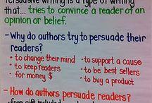 Writing - persuasive
