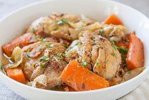 Braised Chicken and Vegetables Recipe
