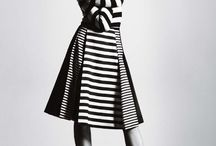 Black White high Fashion SERAFIN