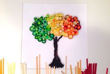 My work / Season tree (quilling)