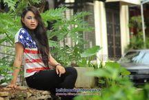 Delana Belicia Model Indonesia