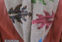 Knit Scarves & Shawls / by Mirja Marshall