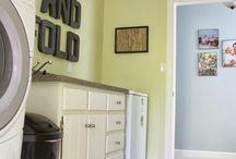 Laundry Room Fix-Up / by Nicole Feldman Crowder