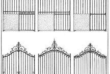 Ogrodzenie, metaloplastyka