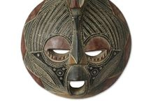 MASKS & TRADITIONAL CARVINGS