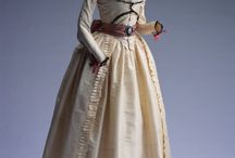1780-1790's ~ Revolution dress inspiration / by Elizabeth Novak