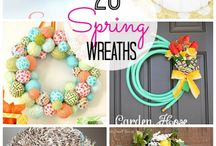 Wreaths! / Inspiration for all types of wreaths!